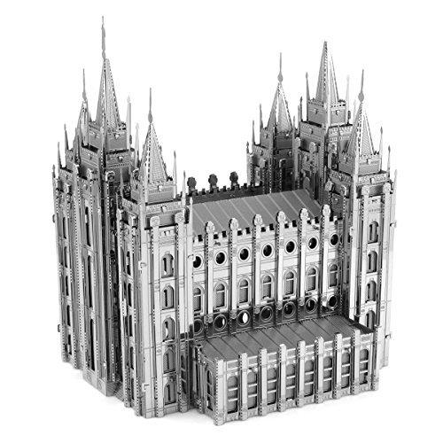 Fascinations ICONX Salt Lake City Temple 3D Metal Model (Salt Lake Temple)