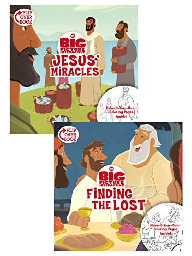 Jesus' Miracles/Finding the Lost, Flip-Over Book (The Big Picture Interactive / The Gospel Project)