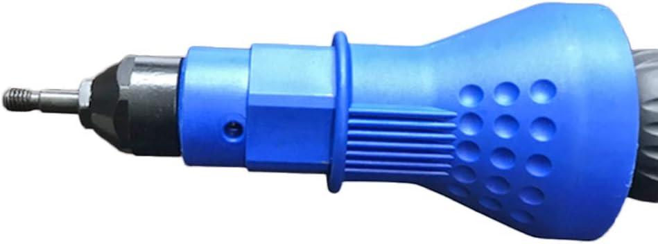 rubinetto a spirale con filettatura M3 nero confezione da 1, sistema britannico Sensese mandrino di ricambio filettato per rivettatrice a mano