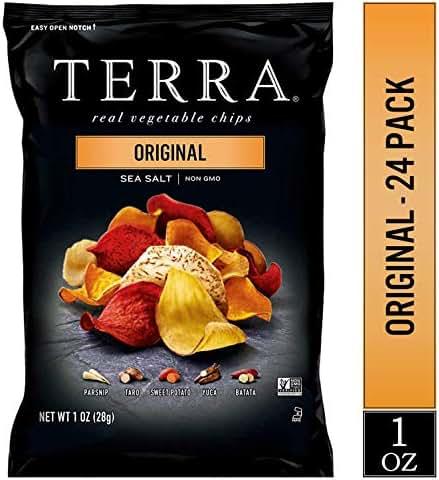 Veggie & Grain Chips: Terra
