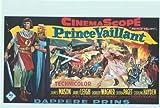 Prince Valiant Poster Belgian 14x22 James Mason Janet Leigh Robert Wagner