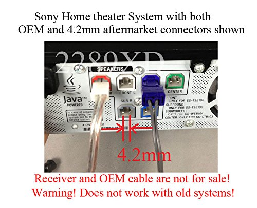 20ft Speaker Extension Cable/Wire/Cord for Sony Home Theater ...
