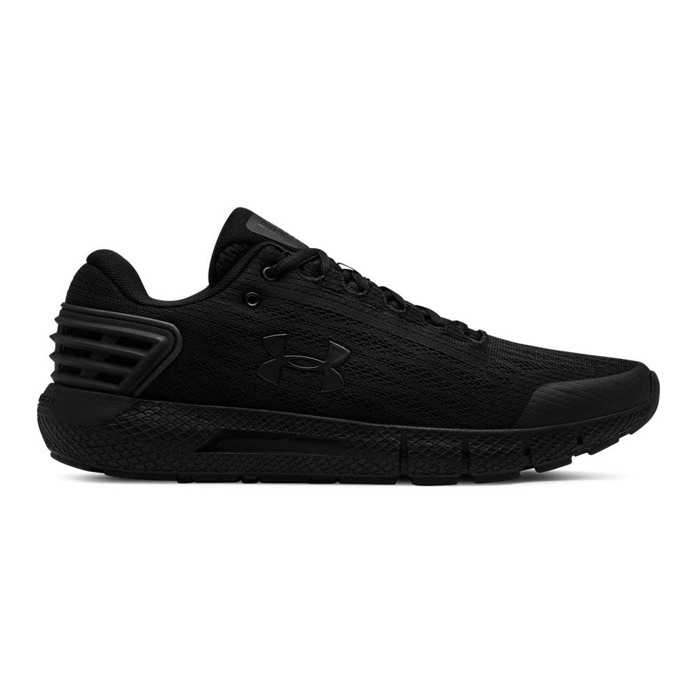 Under Armour Men's Charged Rogue Running Shoe, Black (001)/Black, 10.5 by Under Armour