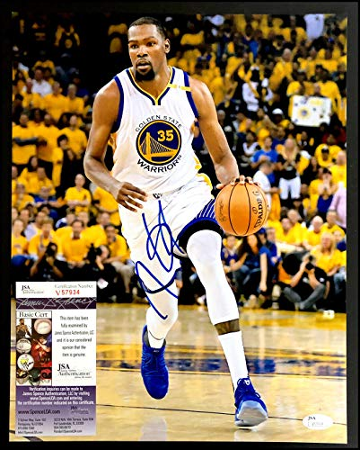 Kevin Durant Autographed Signed 11x14 Photo Picture Warriors Basketball Nba Memorabilia JSA - Certified Signature