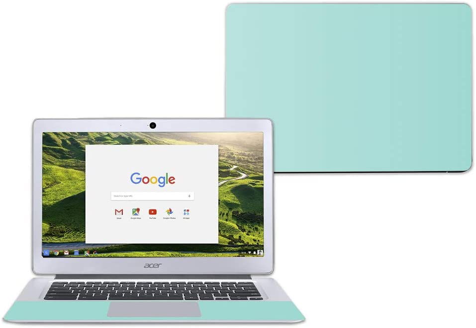 """MightySkins Skin Compatible with Acer Chromebook 14"""" CB3-431 - Solid Seafoam 