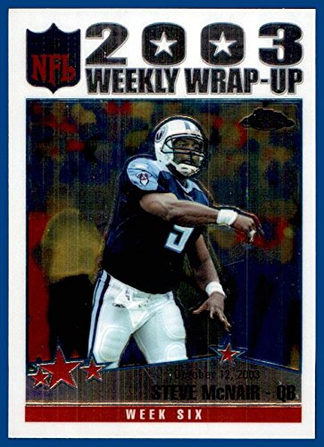 2004 Topps Chrome #151 Steve McNair RIP TENNESSEE TITANS ALCORN STATE ()