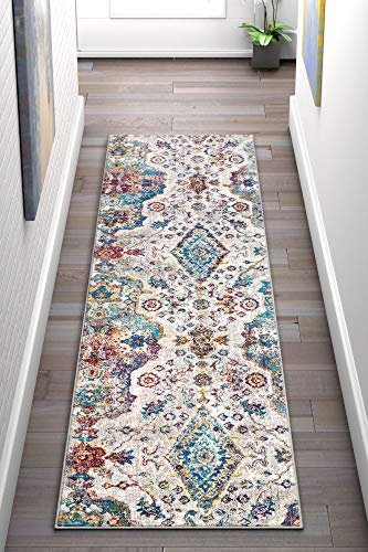Well Woven Bleecker St Paloma Bohemian Floral Paisley Ivory 2'7