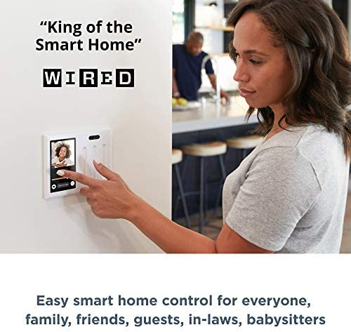 Brilliant Smart Home Control (2-Switch Panel) — Alexa Built-In & Compatible with Ring, Sonos, Hue, Kasa/TP-Link, Wemo, SmartThings, Apple HomeKit — In-Wall Touchscreen Control for Lights, Music & More 51SLC7KJpQL