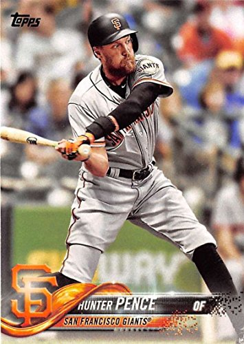 2018 Topps #47 Hunter Pence San Francisco Giants Baseball Card