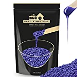 Hard Wax Beans, Lifestance Hair Removal Depilatory Waxing Beads for Brazilian Bikini, Armpits, Back and Chest, Legs, Eyebrow At Home Waxing for Women Men 450g/1lb Lavender