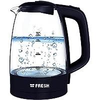 Electric Kettle Fresh - Glass - 1.7 L - Black