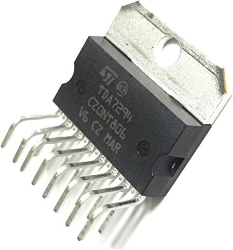 Taidacent 2 PCS TDA7294 100W Dmos Audio Amplifier Mono Audio Power Amplifier Chip IC in Multiwatt15 Package ZIP-15