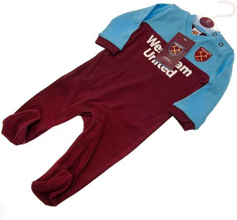 Sleepsuit Official Licensed West Ham United F.C 0-3 Months - ST