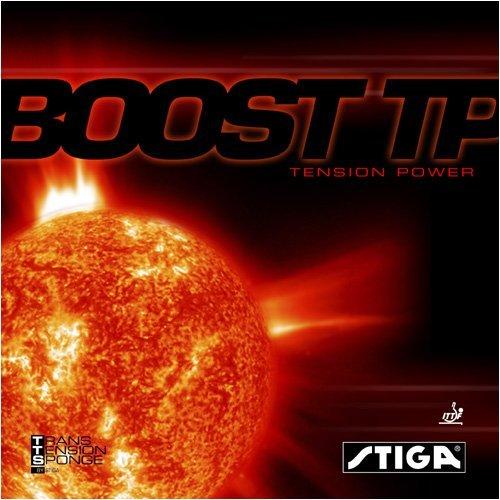 Stiga Boost Tp Table Tennisラバー B0038G56DE ブラック