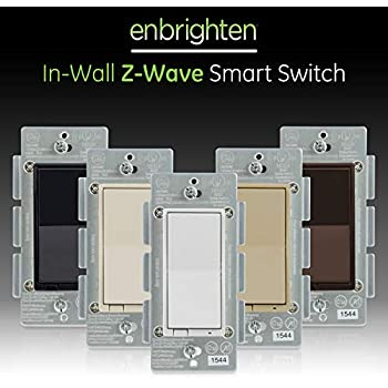 Ge Enbrighten Z Wave Plus Smart Light Switch Works With