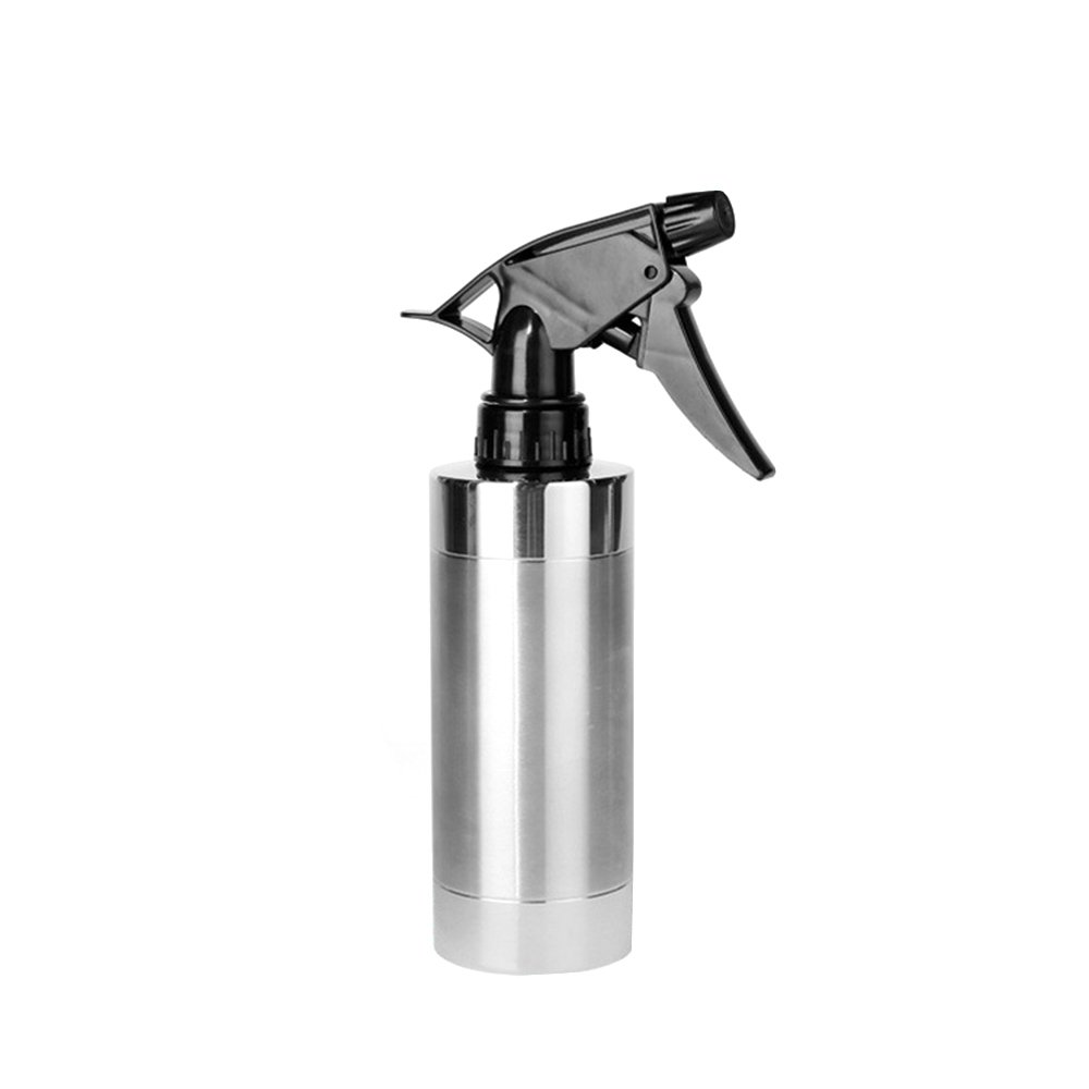 Wispun 304 Stainless Steel Spray Bottle Watering Can for Salon,Gardening tools,Barbecue Marinade Spray Bottle
