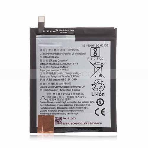 FindX 3000 mAh BL-265 Battery for Lenovo Moto M XT1662