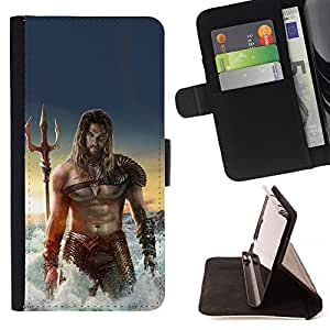 Jordan Colourful Shop - Sexy Man Sea Abs Muscles Poseidon For LG G3 - Leather Case Absorci???¡¯???€????€??????????&
