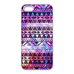 Aztec Tribal Pattern Unique Design Cover Case for Iphone 5,5S,custom case cover ygtg537145