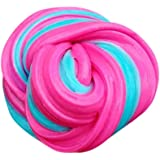 Keepwin Fluffy Floam Slime Toys Stress Relief No Borax Kids Toy Sludge Toy for Kids Adults (Multicolor C)