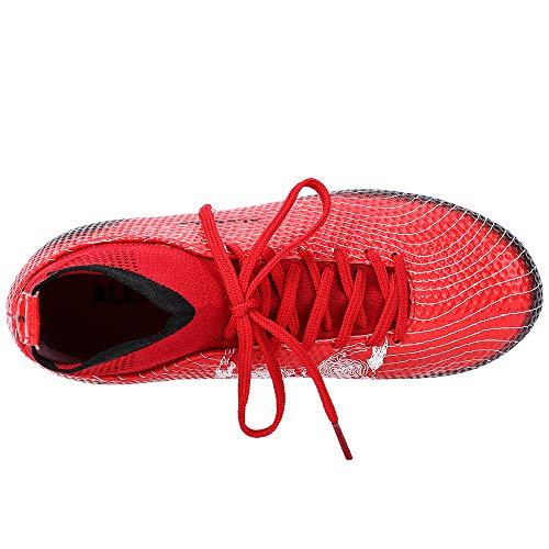 d024f70d635c ALEADER Boy's Athletic Soccer Cleats Football Boots Shoes (Little Kid/Big  Kid)