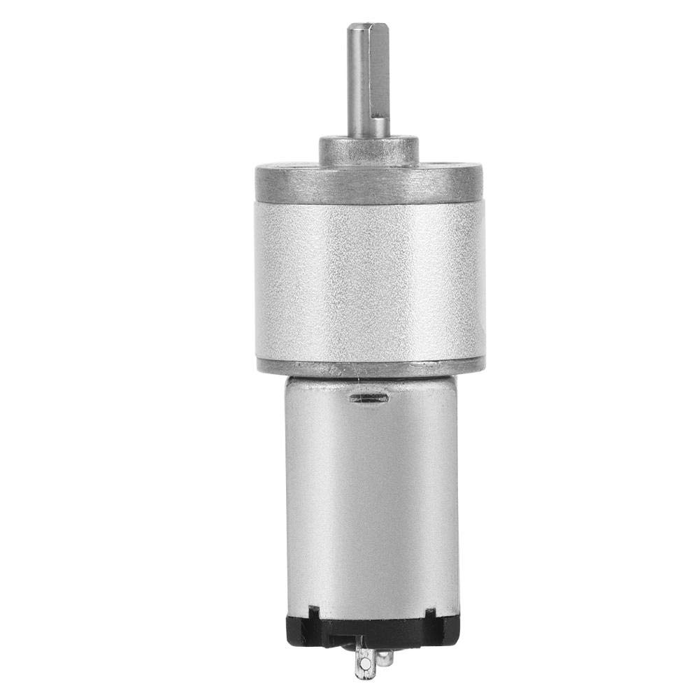 High-Precision Gear Motor,DC 6V /12V 16GA030 Large Torque Low Speed and Noise for Smart Car, Electronic Lock,Robots, Electronic Toys,etc(6V 80RPM)