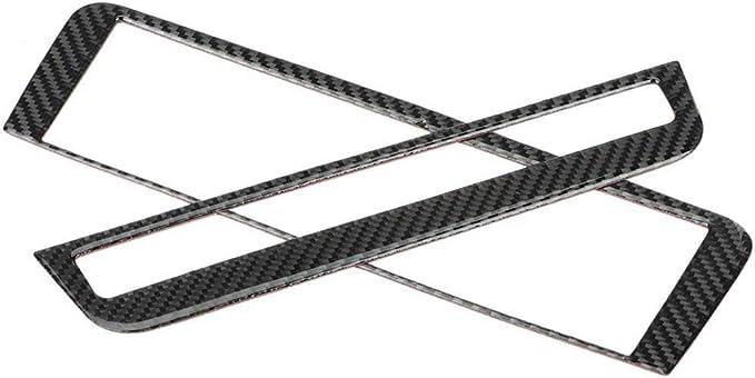 Rockyin Carbon Faser Cd Klimaanlage Control Panel Abdeckung Trim For Mercedes Benz A B Gla Cla Pure Auto