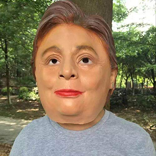 Donald Trump Mask - 1pc Donald Trump Mask Billionaire Presidential Costume Latex Cospaly B5 - America Make Kids Again Great Trump Mask Latex Adults Halloween Hair -
