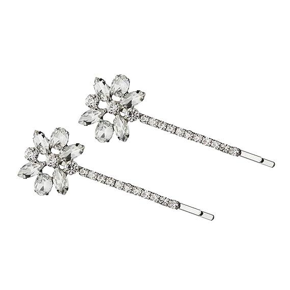 Flower Cabochon Flower Hair Pins Set of 6 Bobby Pin Flower Hair Pin Hair Accessories