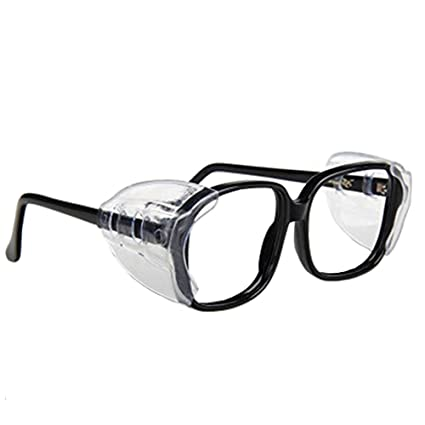 56bf483290 Image Unavailable. Image not available for. Color  Auony Safety Glasses  Side Shields ...