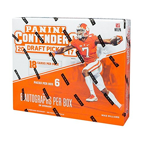 2017 Panini Contenders Draft Picks Collegiate Football Hobby Box