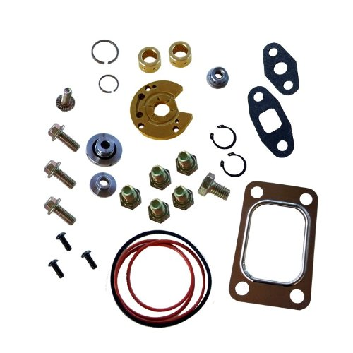 Turbo Rebuild Kit with Gasket for Garrett T3 T4 T04B T04E Turbocharger 360 Degree Thrust Bearing turboparts