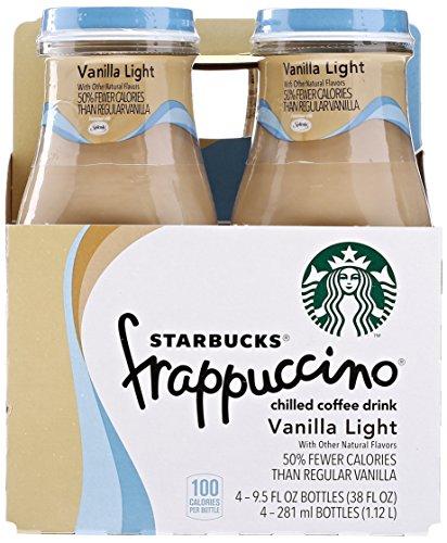 (Starbucks Frappuccino Vanilla Light, 4ct, 9.5oz)