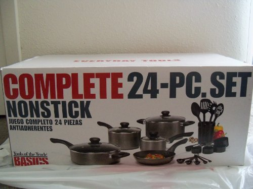 Tools of the Trade Cookware, Basics Complete 24 Piece Set