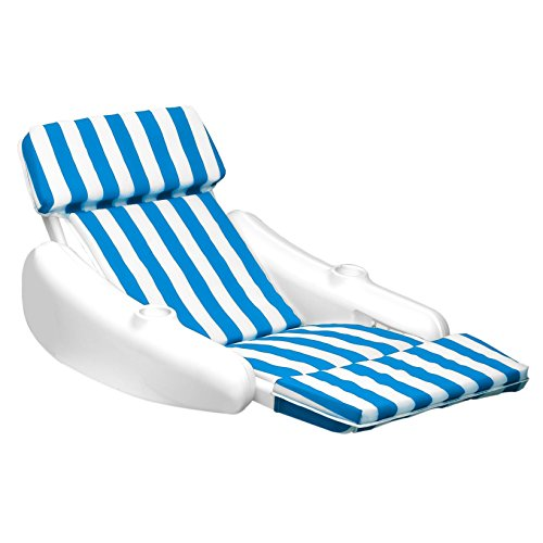 - Swimline 10010SL SunChaser Padded Floating Luxury Lounger Cushion Chair 10010