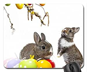 Easter Bunnies Mouse Pad, Mousepad