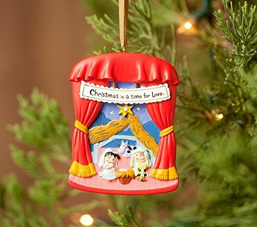 (Peanuts Ornament: The Greatest Story Every Told with Linus and Lucy)