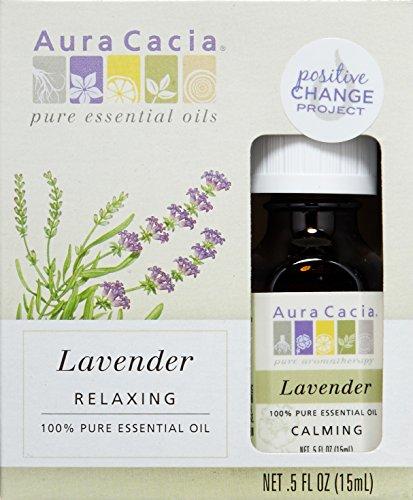 Aura Cacia Essential Oil, Lavender, 0.5 Fluid Ounce