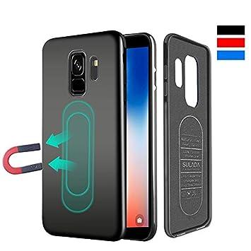 Haobuy Estuche para Samsung Galaxy s9 Plus, Estuche magnético Ultrafino para Soporte de teléfono, Estuche a Prueba de Golpes para Samsung Galaxy S9 ...