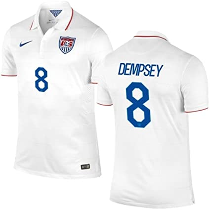 b95624130 Amazon.com   Nike Authentic (On Field Player s Version) USA Home Jersey  DEMPSEY  8 Size M   Sports   Outdoors