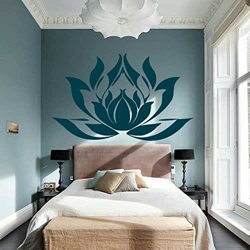 Bohe Mandala Flower Wall Paper Decor Yoga Studio Vinyl: Amazon.com: Lotus Wall Decal Mandala Wall Sticker Yoga