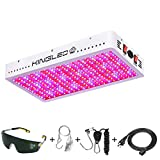 King Plus 3000W LED Grow Light Full Spectrum for Greenhouse and Indoor Plant Veg and Flower (Dual-Chip 10w LEDs)