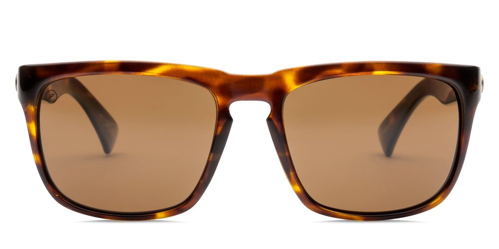 Electric Visual Knoxville Gloss Tortoise/Polarized Bronze Sunglasses by Electric (Image #2)
