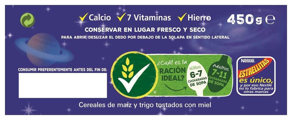 Cereales Nestlé Estrellitas - Cereales de trigo y maíz tostados con miel: Amazon.es: Amazon Pantry