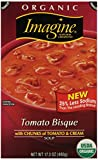 tomato bisque - Imagine Organic Soup, Tomato Bisque, 17.3 Ounce (Pack of 12) (Packaging May Vary)