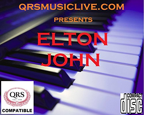 (ELTON JOHN ( 2 DISC SET ) - QRS PIANOMATION Compatible Player Piano CD)