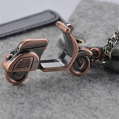Meigold Retro Schl/üsselanh/änger Motorrad Schl/üsselanh/änger Auto Schl/üsselanh/änger Handtasche Tasche Anh/änger Bronze