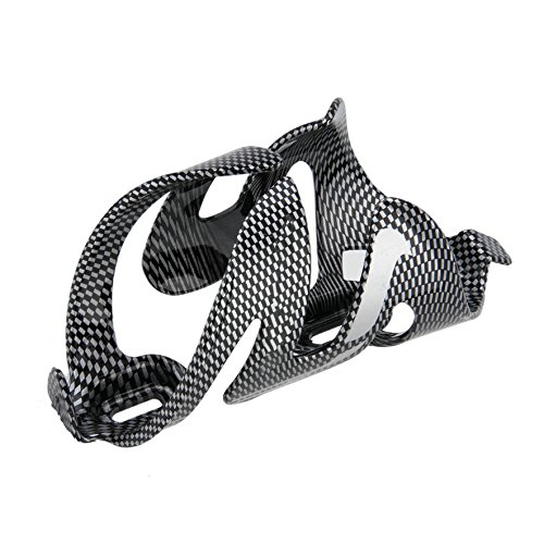 Outdoor Cycling Mountain Road Bike Carbon Fiber Water Bottle Drinks Holder Cages Rack by Isguin (Image #1)