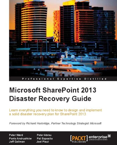 Microsoft SharePoint 2013 Disaster Recovery Guide Pdf