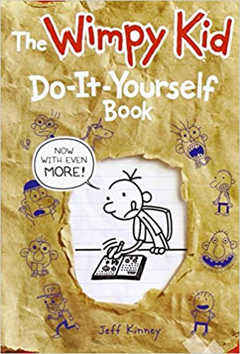 The wimpy kid do it yourself book now with even more jeff kinney the wimpy kid do it yourself book now with even more jeff kinney jie fu kai ni 9781419706837 amazon books solutioingenieria Choice Image